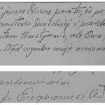 Ks. prof. E. Weron o Natalii - fragmenty listu do rodziny Tułasiewiczów. Archiwum rodzinne