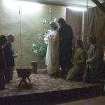 Inscenizacja 'Hanowerskich jasełek' w parafii pw. Chrystusa Króla w Poznaniu w 2007 r. Archiwum rodzinne