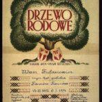 Drzewo rodowe Adama Tułasiewicza. Archiwum rodzinne