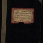 Strona tytułowa wspomnień Adama Tułasiewicza (1904-1913 r.) Archiwum rodzinne