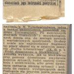 Recenzja pracy magisterskiej Natalii Tułasiewicz