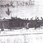 Barak w którym mieszkała Natalia w Hanowerze. Archiwum rodzinne