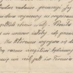 Fragmenty listu Janiny Domagalskiej, pracownicy przymusowej w Hanowerze, do siostry Natalii - Zofii Wojnarowiczowej
