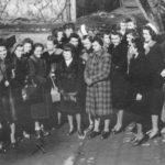Natalia wśród pracownic przymusowych Hanower, 1943 r. Archiwum rodzinne