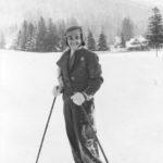 Natalia na kursie sportów zimowych dla nauczycieli w Zakopanem 1937 r.