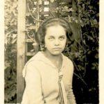 Natalia jako uczennica Gimnazjum Urszulińskiego, 1926 r.